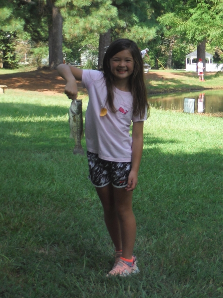 Paige 12inch (second largest fish)